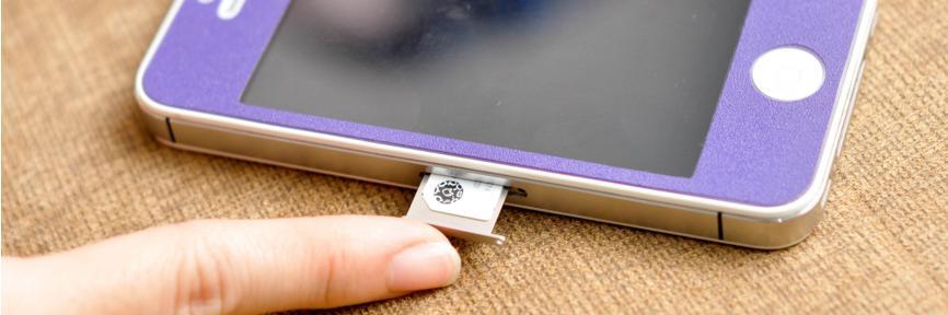 La carte SIM d'un iPhone se trouve sur le côté
