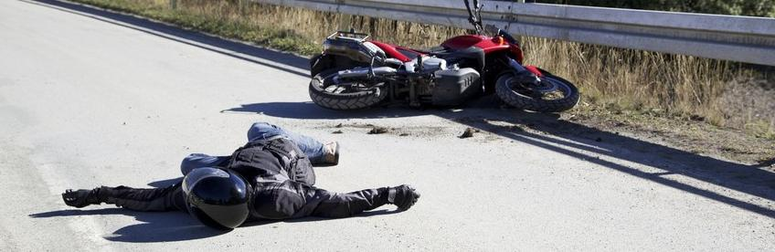 Un accident de moto