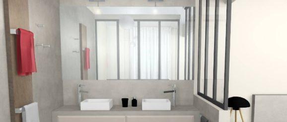 Rénovation salle de bain : comment remplacer une cloison par une ...