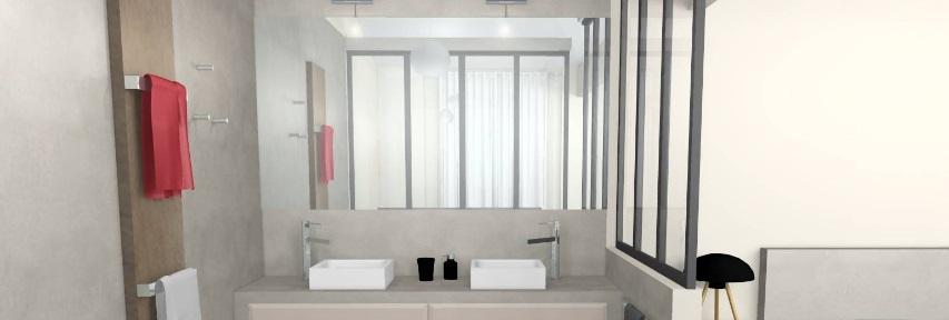 Verrière salle-de-bain