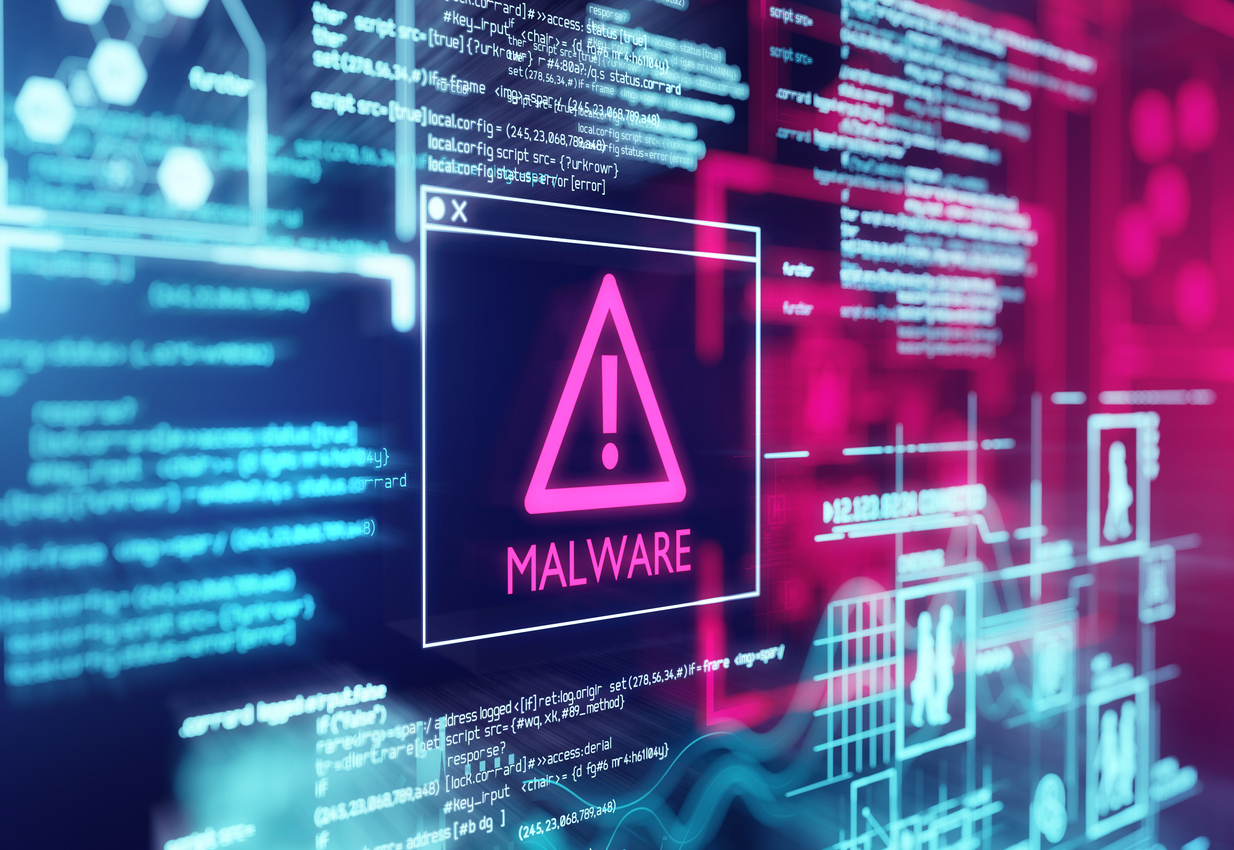 Illustration de l'effet d'un malware