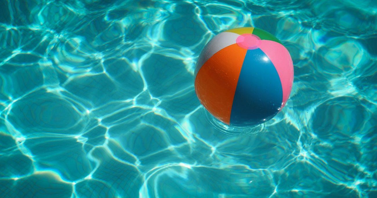 Piscine ballon