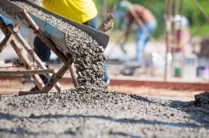 ciment prompt BTP ouvrier chantier